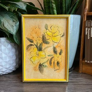Original Floral Watercolor Painting *PRICE FIRM